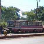 Foto tomada en la vía hacia Trinidad-Parguay