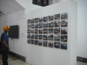 Muestra fotográfica del transporte actual