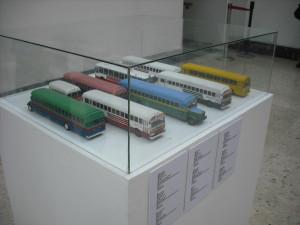 Maquetas de Autobuses Urbanos que alguna vez circularon en nuestra ciudad